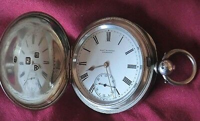 Silver Pocket Watch Robert Roskell  - Liverpool (Not Tested)