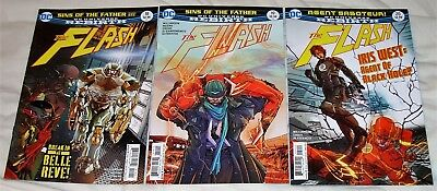"Flash #18,19,20 ""Sins of the Father"" / ""Agent Saboteur"" (DC Comics Rebirth)"