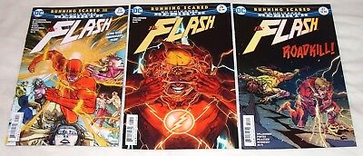 "Flash #25,26,27 ""Running Scared""  (DC Comics Rebirth) - complete storyline"