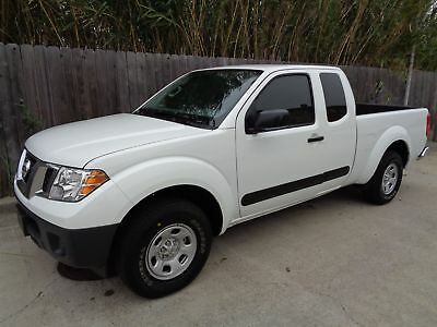 2016 Nissan Frontier S 2016 Nissan Frontier S RwD Extended Cab 5 Speed Standard 2.4L I4 Dohc Engine