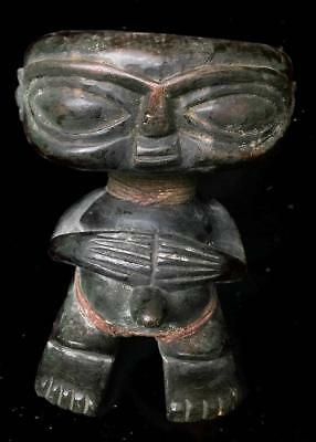 Old Tribal Pygmy Maternity Figure    --  Cameroon