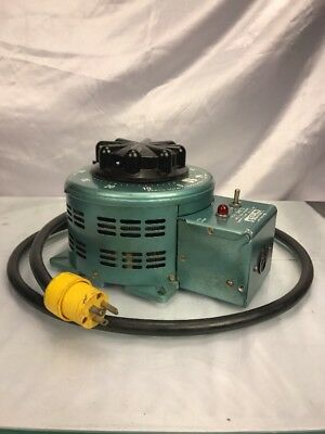 Staco Variable Autotransformer 3PN2210 0-120V In  0-140V 22A Out Free Shipping