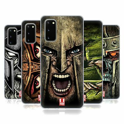 Head Case Designs Medieval Helmets Soft Gel Case For Samsung Phones 1
