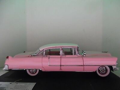 Franklin Mint 1:24 scale 1955 Cadillac Fleetwood. Elvis's Pink Caddy