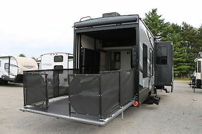 Spring Super Saver 2017 Impact 361 Fifth Wheel Toy Hauler 11 Ft Garage Camper Rv