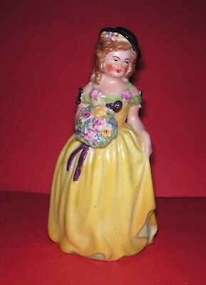Goss Crested China Flower Lady  Joan  130 mm