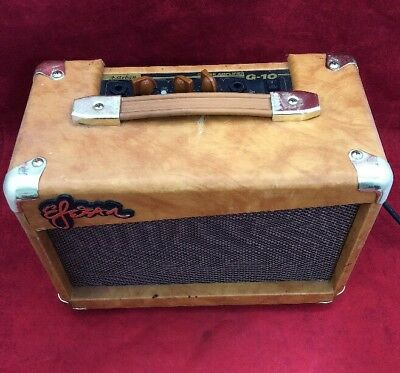"ESTEBAN Electric Guitar Amplifier G-10 Brown 12x9x6"" See Listing"