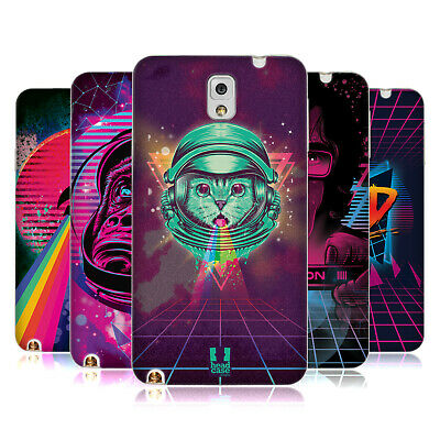 Head Case Designs The 80'S Graphic Vibes Soft Gel Case For Samsung Phones 2