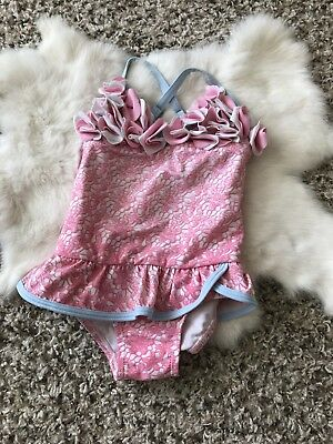 Floatimini Toddler Girl Swimwear One Piece Bathing Suit Sz 3T