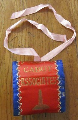 Antique Patriotic 1906 Roll Up SEWING Kit CABOT Associates Collection a ribbon