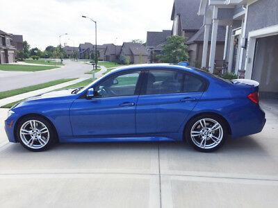 2013 BMW 3-Series M-Sport Amazing condition in rare Estoril Blue - M-Sport Package and More!