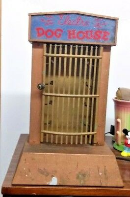 1930s-40s Rare Electro Dog House Hot Dog Warmer From A Closed General Store