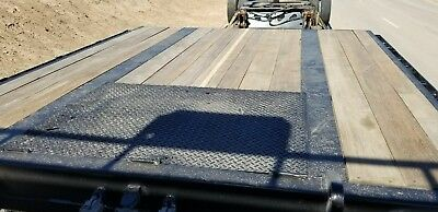 Extendable drop deck trailer