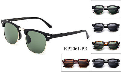 Polarized Kids Sunglasses Boys Girls Children Toddler Clubmaster UV Protection