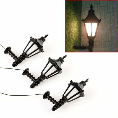 10pcs Model Railway Led Lamppost Lamps Street Lights N Scale 5cm 12v New Lym11 Model Outdoor Lamp Yard Light Leds Model Building Kits