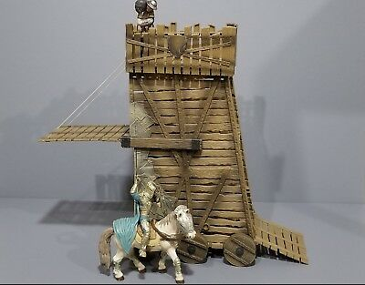 Revell siege tower compatible w Schleich Papo Revell knights great Collectible!