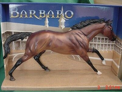 **NEW** Breyer BARBARO Traditional Horse 1307 NEW IN BOX Cigar Mold