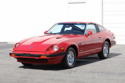 1983 Datsun Z-Series Base Coupe 2-Door 1983 Datsun 280ZX 280 Z ZX Red Original with Only 16,173 Miles Collector grade