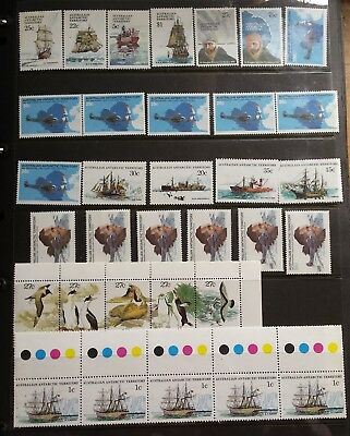 Australian Antarctic Territory STAMPS (33) Unused / Never Hinged