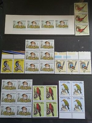 STAMPS (32) Australian Birds - Unused / Never Hinged