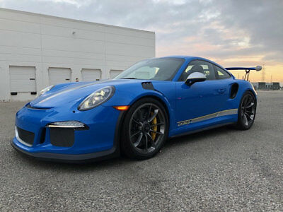 2016 Porsche 911 2dr Coupe GT3 RS Lease $2,842/Mo+Tx 2016 Porsche 911 991 Coupe GT3 RS GT3RS GT3-RS Paint to Sample Blue 918 Miles