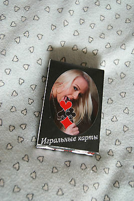 russian erotik pin up girls adult XXX Kartenspiel nude playing cards erotic 4060