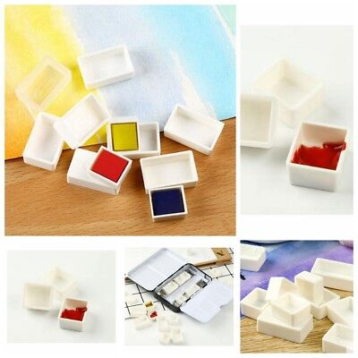10 pcs Water Colour Full or Half Pans Artist Empty Pan For Watercolour Painting