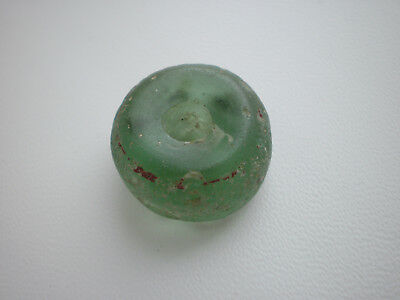 Rare Ancient Viking Glass Decoration Bead ca 7 - 9 century AD #1