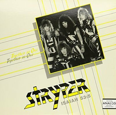 Stryper - Together As One / Soldiers Under Command Vinyl Maxi  NEW