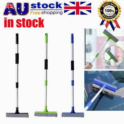 Telescopic Double Side Auto Wiper Car Glass Window Cleaner Clean Tool