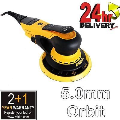 "Mirka DEROS 650CV 220-240V 150mm  6"" Electric Random Orbital Car Sander Palm"