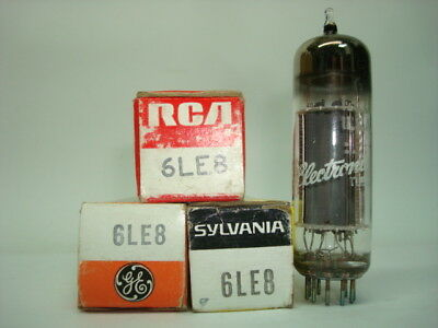 6Le8 Tube. Mixed Brands. Nos / Nib. Rcb151