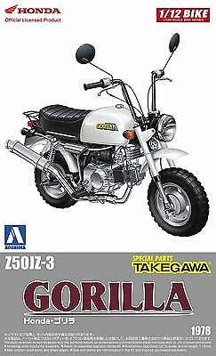 Aoshima Naked Bike No.23 1/12 Honda GORILLA Custom Takegawa Ver.1 from Japan