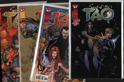 SPIRIT OF THE TAO #1 #2 #6 #13  Bundle  (Image Comics)  HL3.168