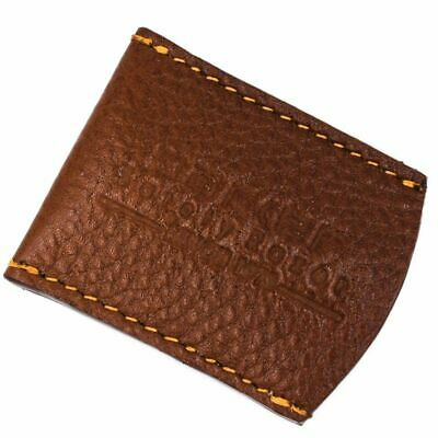 Parker Genuine Brown Leather Safety Razor Blade Guard