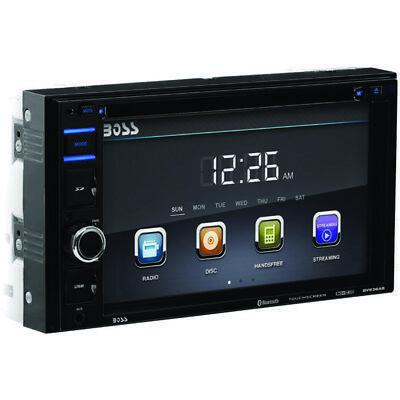 Boss Audio Systems BV9364B 6.2 Double-DIN In-Dash DVD/MP3/CD & AM/FM Receiver wi