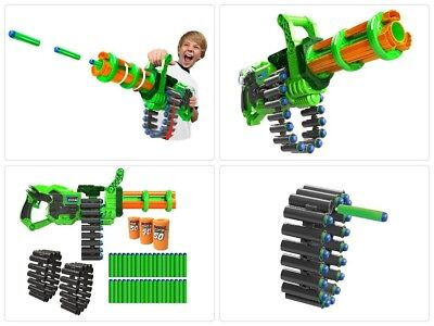 Motorized Powered Vortex Sniper Gun Nerf For Boys Scope Pistol Shotgun Blaster