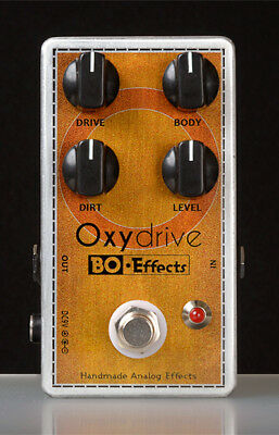 Pédale guitare Overdrive Oxydrive BO*Effects