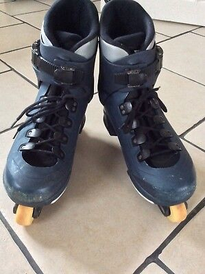 SALOMAN ST Ten AGGRESSIVE IN-LINE SKATES - MENS UK SIZE 12.5