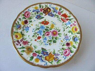 Hammersley Queen Anne Plate Pattern 13166 Made for Ovington Bros Hand Painted #3