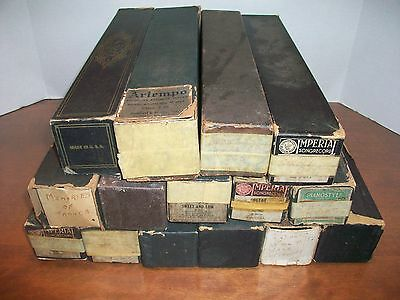 Lot Of (15) Vintage Piano Rolls - Imperial, Qrs, Artempo, Piano Style