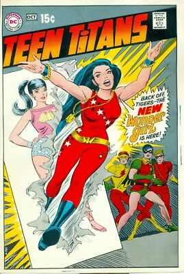 Approval covers for Teen Titans 23 & 28 (Nick Cardy art)