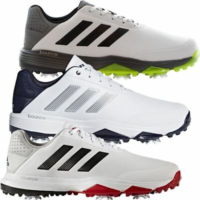 detailed look 47ff0 25bae adidas GOLF MENS ADIPOWER BOUNCE SPIKED LIGHTWEIGHT GOLF SHOES - WIDE  FITTING