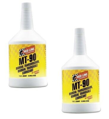 Red Line Oil Synthetic Manual Transmission Lubricant MT90 GL-4 75W90 (2 Quarts)