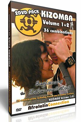 How to Kizomba Vol 1+2 - 2 DVD Pack - Improvers to advanced - 36 combinations