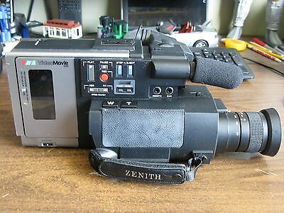 Back to the Future Marty McFly (JVC Cousin?) video Camcorder ZENITH VM 6000