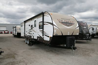 Last One-Must Go-New Forest River Wildwood 28CKDS Travel Trailer w/ Bunkhouse RV
