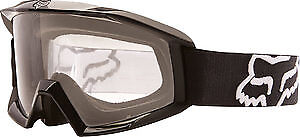 Fox Racing Main 2017 Youth MX/Offroad Goggles Matte Black/Gray