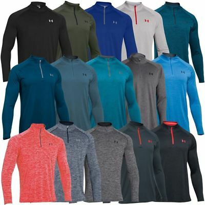 Under Armour 2018 UA Tech Zip Workout Layer Long Sleeve Top Gym Shirt Training