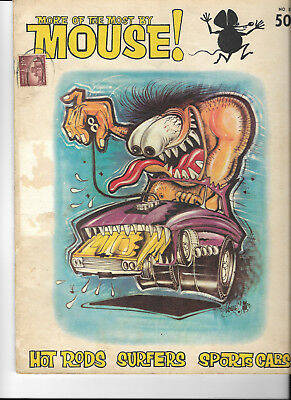 more of the most by Mouse 1963 cartoon type magazine good shape cover 100 attach